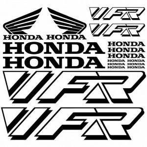 "D/'COR Motorcycle Rim Decals 21/"" Honda Logos Front 40-80-200"