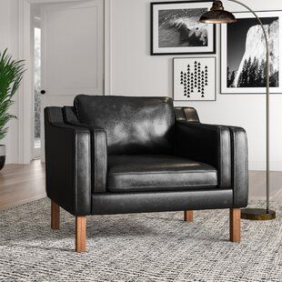Modern Black Accent Chairs Allmodern In 2020 Modern Furniture