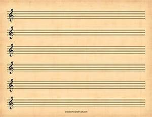 Blank Sheet Music Template With Images Guitar Tabs Blank