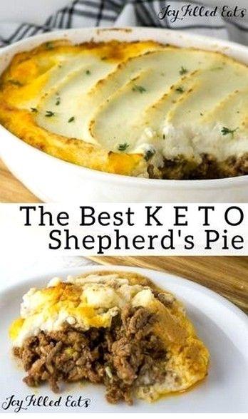 Shepherd S Pie With Recipe Cauliflower Topping Recipe Keto Recipes Dinner Recipes Keto Recipes Easy