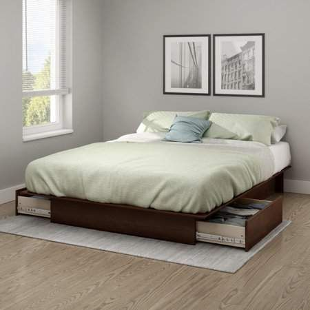 Home Platform Bed With Storage Platform Bed With Drawers Bed With Drawers