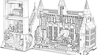 Harry Potter Hogwarts Coloring Pages Holiday Filminspector Com Harry Potter Colors Harry Potter Coloring Pages Harry Potter