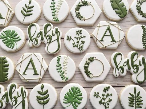 Simplicity. Not a lot of color but the ones that matter pop on this baby set from @coopercookies. Such a great set! #purplecutters #babyshowercookies #babycookies #handletteredcutters #Repost @coopercookies swooning over this botanical baby shower set #coopercookies #customcookies #royalicingcookies #cookiesofinstagram #decoratedcookies #sugarcookies #cookies #babyshower #babyshowercookies #greenery #botanicalcookies #botanical #houstoncookies #houston #houstontx #sugarlandcookies #sugarlandtx #