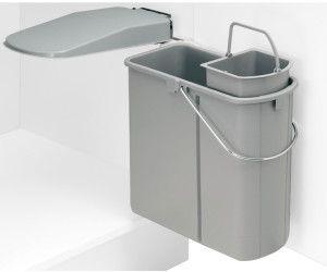 Naber Selectakit Vario 1 Plus 19 L Alugrau Ab 29 95 Preisvergleich Bei Idealo De Mulleimer Kuche Abfalleimer Einbau Abfallsammler