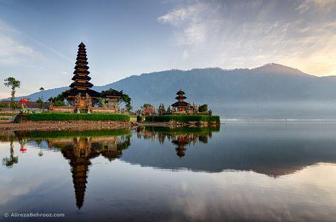 Ulun Danu Beratan Temple, Bedugul, Bali - Indonesia