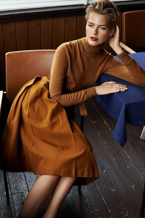 Local Beauty – Slovakian model Michaela Hlavackova poses for Branislav Simoncik in the latest edition of local leading style magazine Top Fashion.