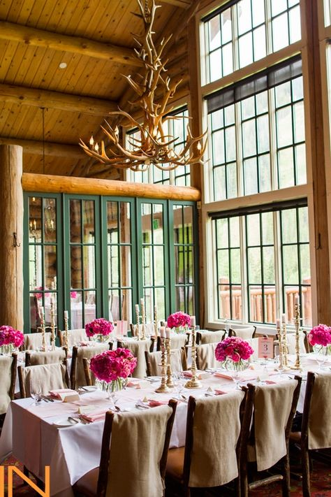 Pretty In Pink At Beano S Cabin Beavercreek Mountainweddings
