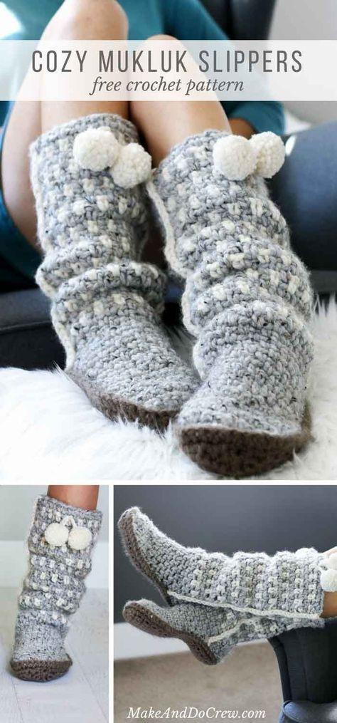 Yarnsy Craftsy Crochet Make & Do Crew's UGG Style Crochet