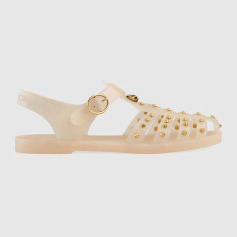 c79c09b06 GUCCI Rubber Buckle Strap Sandal.  gucci  shoes  men s sandals   thongs