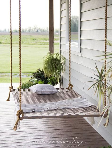 12 DIY Swing Bed Ideas to Spruce Up Your Outdoor Space Related posts: Super Ideas For Diy Outdoor Swing Bed Sleep Diy Outdoor Swing Friends Trendy Ideas Diy outdoor swing frame 32 ideas Trendy Diy Outdoor Bed Swing Daybeds Hammock Swing Bed, Diy Swing, Diy Hammock, Hammocks, Room Swing, Pallet Swing Beds, Backyard Hammock, Swinging Porch Bed, Porch Swing Beds
