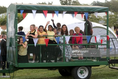 "Catherine, Duchess of Cambridge, Mary Berry (R) and children attend the ""Back to Nature"" festival at RHS Garden Wisley on September 10, 2019 in Woking, England. (Photo by Chris Jackson/Getty Images)"