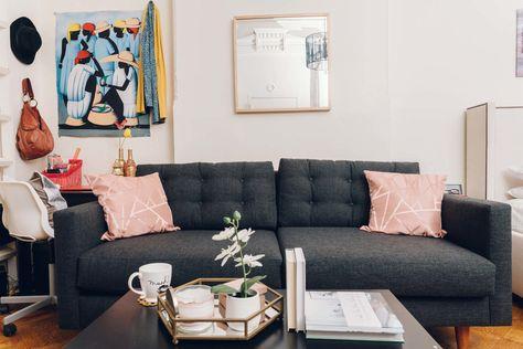 Superb Scott 2Pc Sectional Sofa Leg Finish Espresso Machost Co Dining Chair Design Ideas Machostcouk