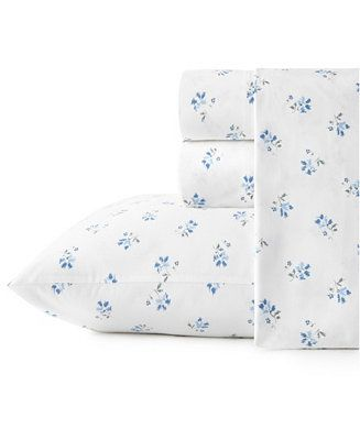 Stone Cottage Sketchy Ditsy Cotton Percale King Sheet Set Reviews Sheets Pillowcases Bed Bath Ma King Sheet Sets Cotton Sheet Sets Sheet Sets Queen