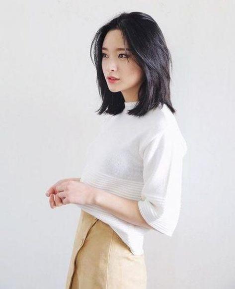 Carre Long 30 Inspirations Canons Pour L Adopter Coupe De Cheveux Cheveux Asiatique Coupe De Cheveux Asiatique