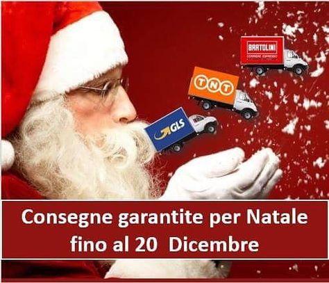 natale #gls #bartolini #tnt consegne...
