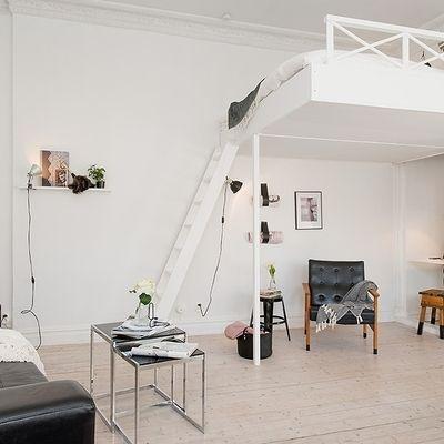 Hochbetten für Erwachsene - Gute Idee für kleine Wohnung Ponto