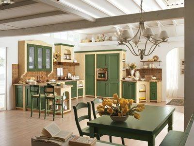 Abbinare colori pareti a cucina rustica arte povera | Projects to ...