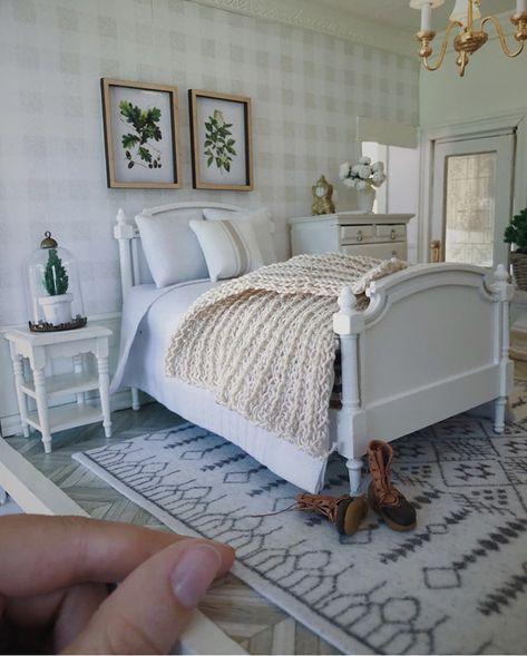 1:12 Dollhouse Miniature Furniture Room Retro Door Floor Carpet Rug Landscape ♫
