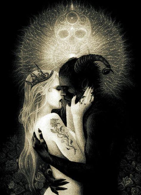 Картинки любовь с сатаной