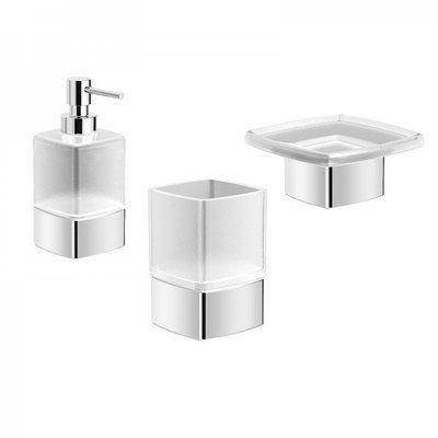 Hohl 3 Piece Bathroom Accessory Set Bathroom Hardware Set