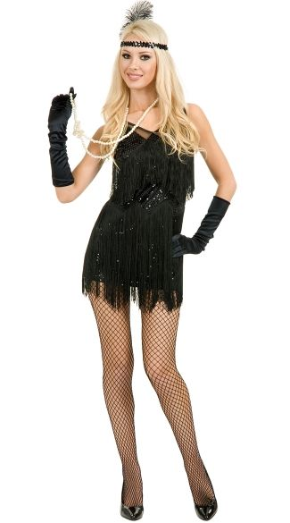 Chicago Flapper Costume | Flapper girl costumes, Gatsby costume ...