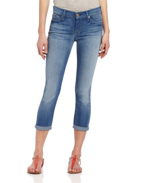 7 For All Mankind The Skinny Crop Jeans Donna