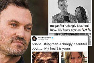 Brian Austin Green SHADES Megan Fox over Instagram post   Daily Mail Online