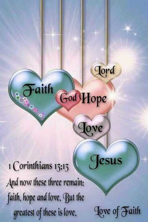 MT @AnnickNday: And now these three remain: faith, hope and love. But the greatest of these is love.  #RenewUS #PJNET