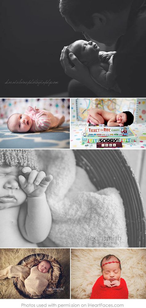 50 More Beautiful Newborn Photos to Inspire Every Photographer | Compiled by iHeartFaces.com