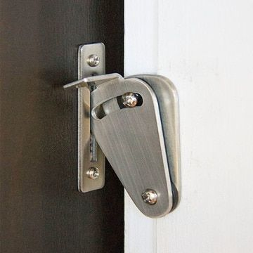 Barn Door Privacy Lock With Images Barn Door Locks Bathroom