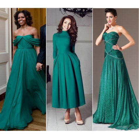 a3094593c8c Изумрудное платье