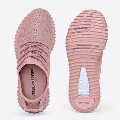 pink yeezys real