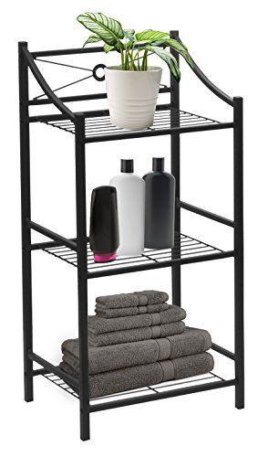 Sorbus Bathroom Storage Shelf 3 Tier Freestanding Toilet Storage