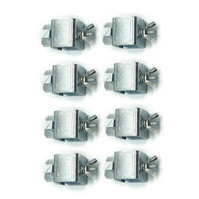 8X Butt Welding Clamps Sheet Metal Locator Adjustable Positioner Clip Holder New