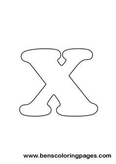 Letter X Drawing Free Lettering