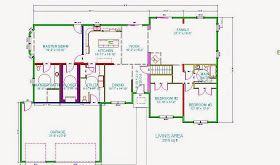 Universal Design For Accessible Homes 3 Bedroom Wheelchair Accessible House Plans Accessible House Plans Accessible House House Plans