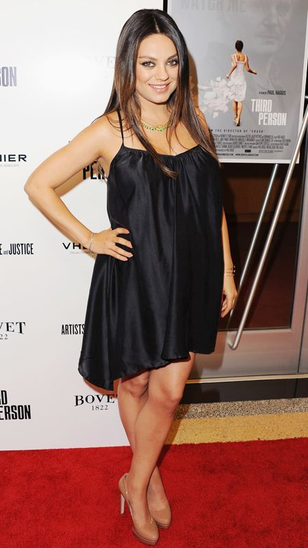 Celebrity Red Carpet Maternity Style | Mila kunis
