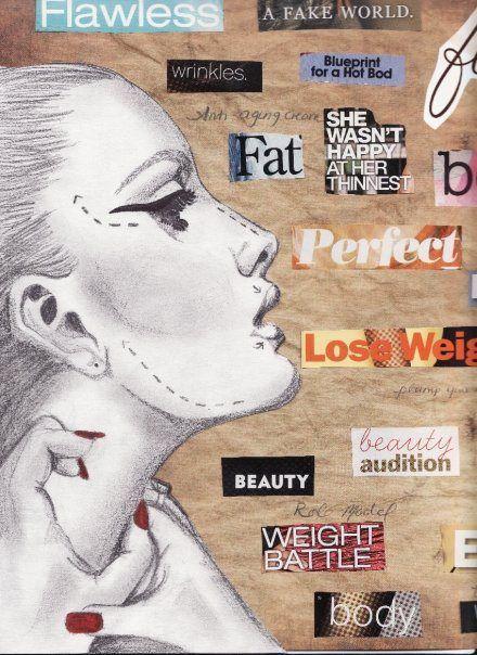 body image – mixed media