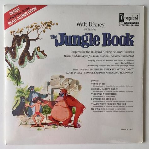 Walt Disney S The Jungle Book Sealed Lp Vinyl Record Album