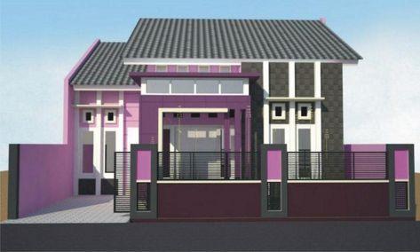 Kombinasi Cat Rumah Warna Ungu Dan Putih Ungu Dan Pink Ungu Dan Hijau Dan Lain Sebagainya Kombinasi Warna Cat Ungu Rumah Minimalis Lukisan Rumah Desain Rumah