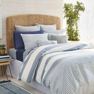 Nautica Fairwater Navy And White Nautical Striped Comforter Set Full Queen 3 Piece Comforter Sets Bedroom Comforter Sets Comforters