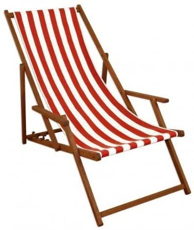 Erst Holz Deckchair Rot Weiss Strandstuhl Gartenstuhl Buche D Erst Holz Deckchair Rot Weiss Strandstuhl Garten Outdoor Chairs Outdoor Furniture Outdoor Decor