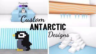 4 Custom Antarctic Design Ideas Building Hacks For Penguins Roblox Adopt Me Its Sugarcoffee In 2020 Roblox Pet Hacks Hacks Videos