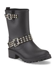 I need these! Capelli Moto Rain Boot