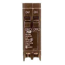 Connecticut Electric VPKICBQ1515 15 Amp Single Pole Twin Circuit Breakers