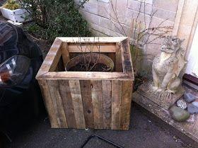 Mueblesdepalets Net Como Hacer Una Jardinera Exterior Con Palets De Madera Reciclados Palets De Madera Jardineras Exterior Jardineras De Madera
