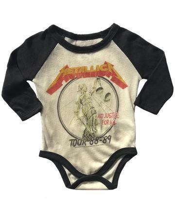 Metallica Fuel Baby Bodysuit Baby One Piece Infant Metal Kids Romper Official