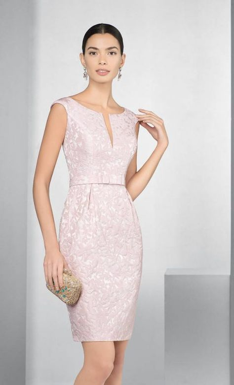 9ea272287f5b Abiti cerimonia donna Couture Club Rosa Clarà Group 2017 - 1G297 COUTURE 1  - P