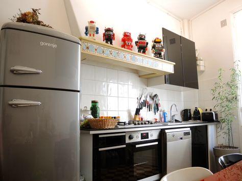 La Cuisine Et Ses Robots Deco Insolite Jouet Vintage Avec