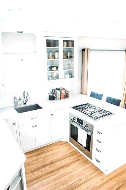 30+ Tiny Kitchen Remodel Ideas On A Budget ...